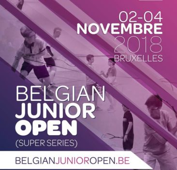 Belgian Junior Open 2018