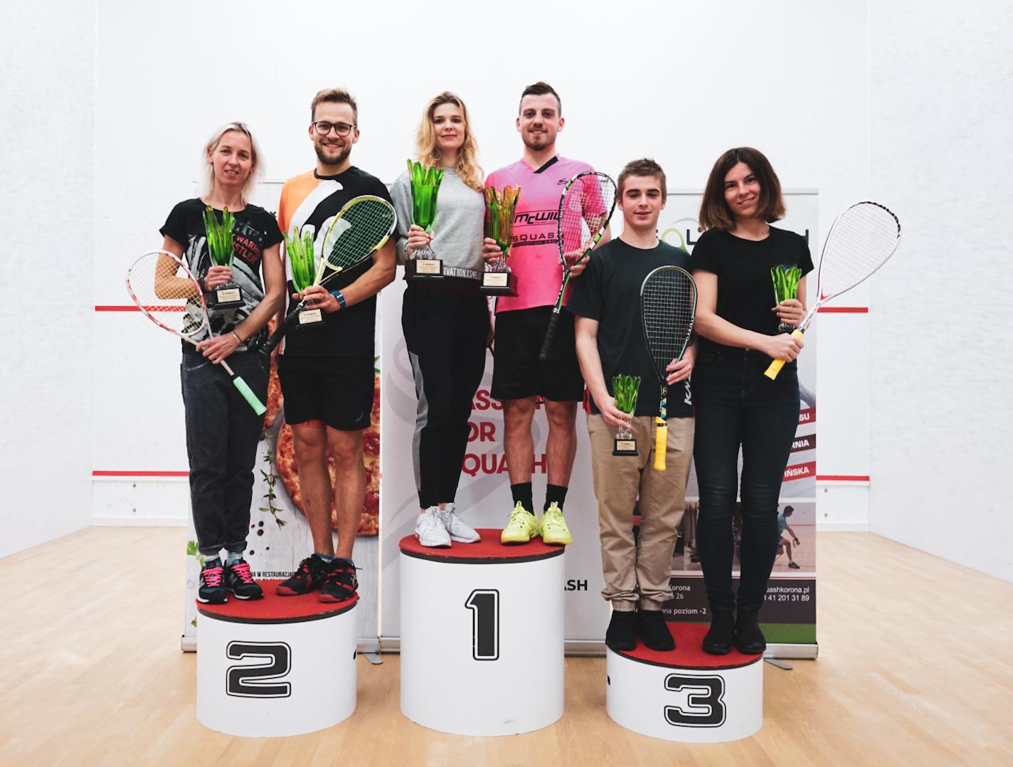 Seniorski turniej rangi A, Squash Korona, Kielce