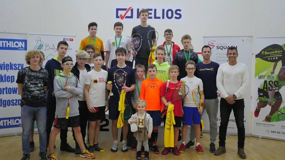 Juniorski turniej rangi A, Squash Point, Bydgoszcz