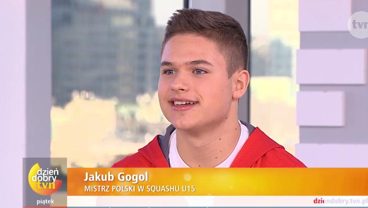 Jakub Gogol o swojej squashowej pasji