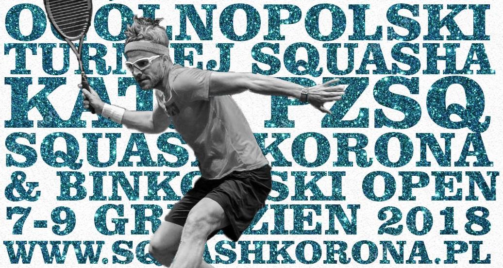 Seniorski turniej rangi A, Klub Squash Korona (Kielce)