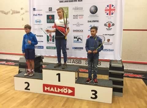 Mateusz Ptaszek Mistrzem Nordic Junior Open 2019 w kategorii BU11
