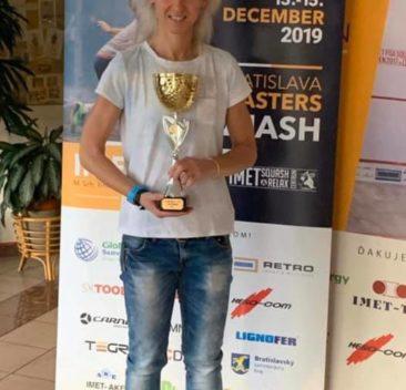Dominika Witkowska Mistrzynią Slovakia Masters 2019 w kat. W35+