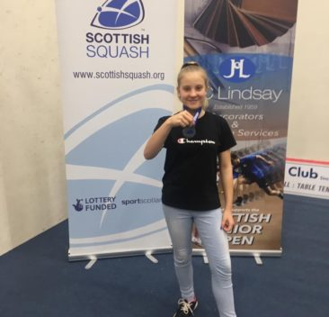 Maja Maziuk zdobywa brązowy medal na JC Lindsay Scottish Junior Open