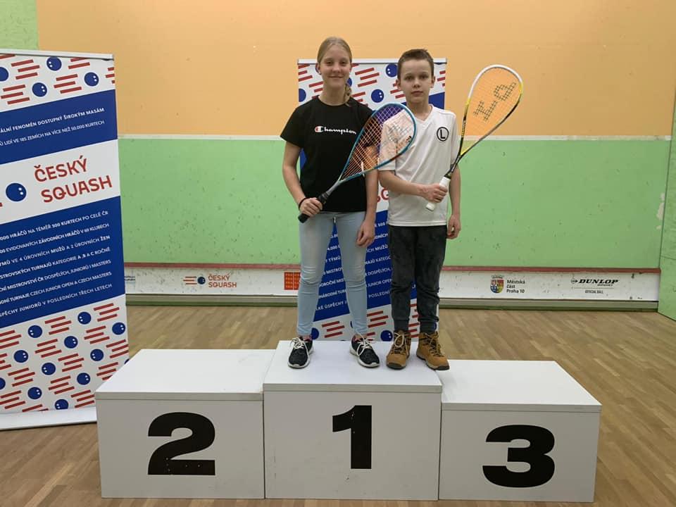 Maja Maziuk i Mateusz Lohmann Mistrzami swoich kategorii na Czech Junior Open 2020