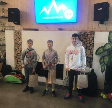 Juniorzy przywożą medale ze Slovenian Junior Open 2020