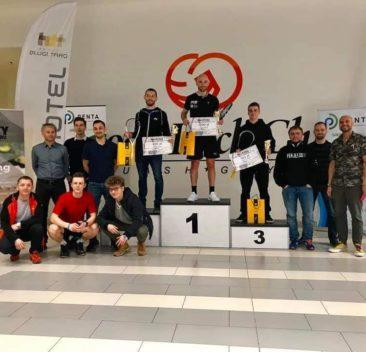 Turniej A męski w Good Luck Club Squash Gdynia zakończony