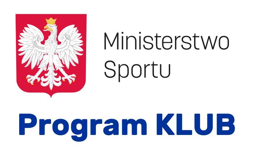 Program Klub Ministerstwa Sportu - rozstrzygnięty