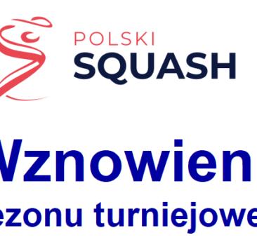 Wznowienie sezonu turniejowego PZSq