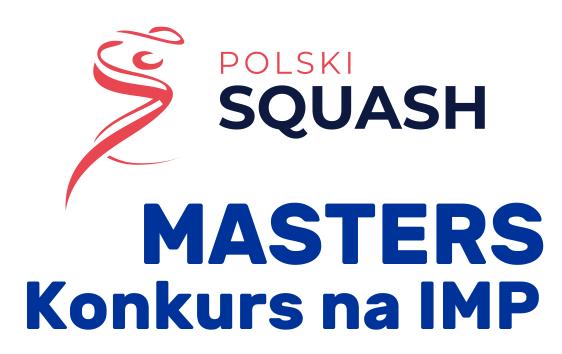 Konkurs na turniej MASTERS IMP w listopadzie 2020