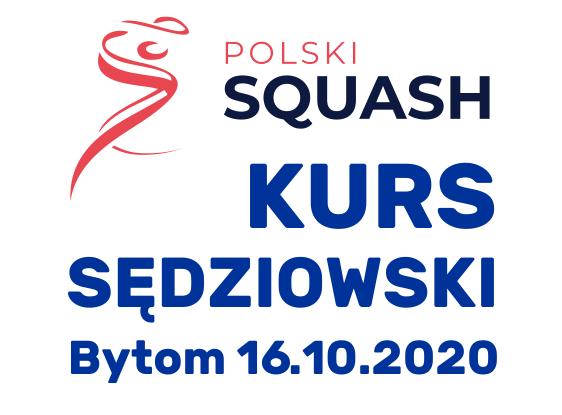 Kurs sędziowski w Bytomiu. 16.10.2020