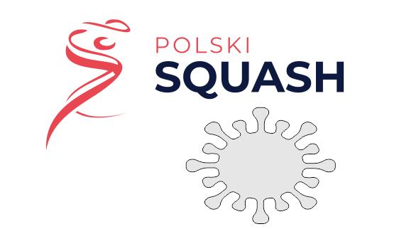 Squash w czasach zarazy - komunikat Polskiego Związku Squasha