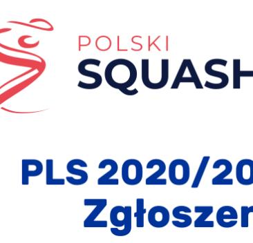 Polska Liga Squasha 2020/2021. Pierwszy etap. Rejestracja  drużyn