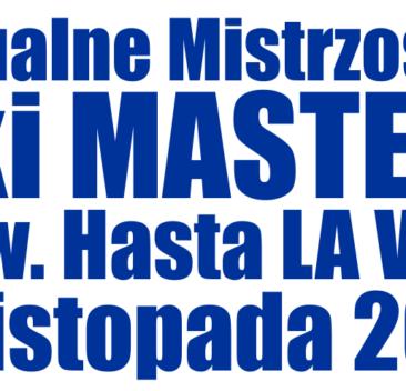 Indywidualne Mistrzostwa Polski Masters 2020 - WYNIKI