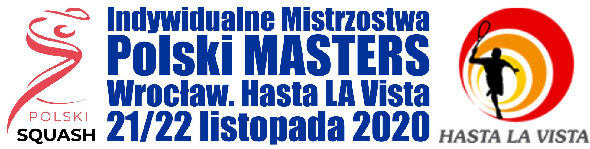 Indywidualne Mistrzostwa Polski MASTERS 2020