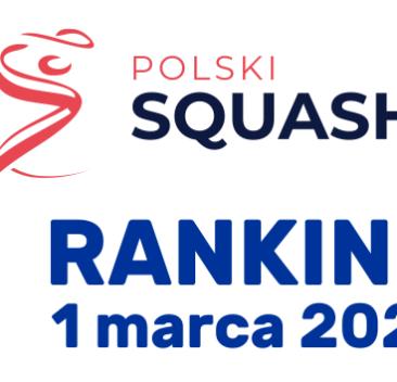 Rankingi PZSq na dzień 1 marca 2021