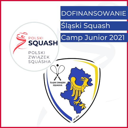 """Dofinansowanie  """"Śląski Squash – Camp Junior 2021"""""""