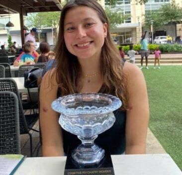 Karina Tyma PO RAZ DRUGI na najwyższym miejscu w turnieju PSA.