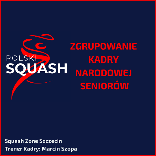 Zgrupowanie Kadry Polski Seniorów w Szczecinie